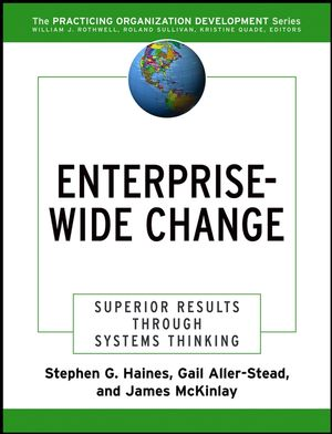 Enterprise-Wide Change: Superior Results Through Systems Thinking (0787976644) cover image