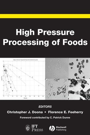 High Pressure Processing of Foods (0813809444) cover image