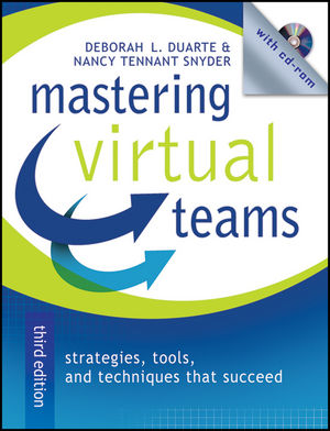 Mastering Virtual Teams: Strategies, Tools, and Techniques That Succeed, 3rd Edition, Revised and Expanded (1118047044) cover image