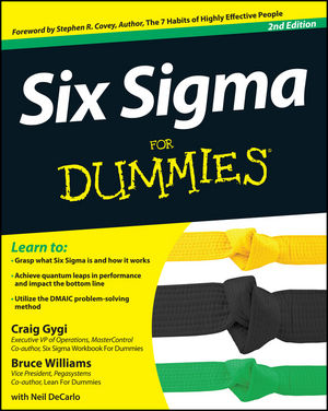 Six Sigma For Dummies, 2nd Edition (1118238044) cover image