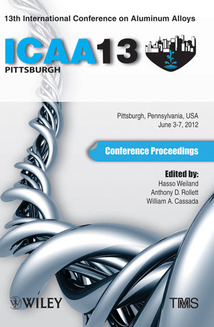 13th International Conference on Aluminum Alloys: ICAA 13 (1118458044) cover image