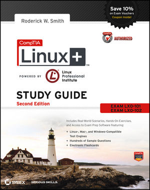 enterprise learning solutions comptia linux study guide exams lx0