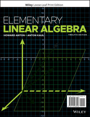 Elementary Linear Algebra, 12th Edition