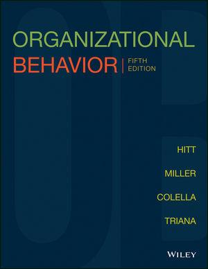 Organizational Behavior, Enhanced etext, 5th Edition (1119391644) cover image