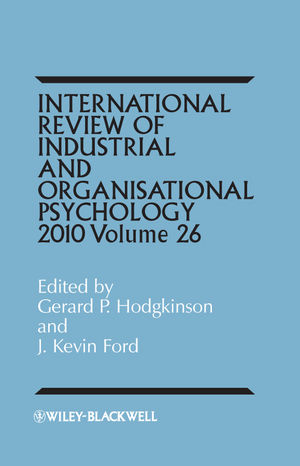 International Review of Industrial and Organizational Psychology, 2011 Volume 26 (1119996244) cover image