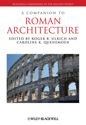 A Companion to Roman Architecture (1405199644) cover image