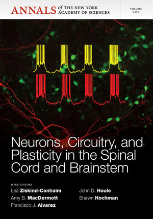 Neurons, Circuitry, and Plasticity in the Spinal Cord and Brainstem, Volume 1279 (1573318744) cover image