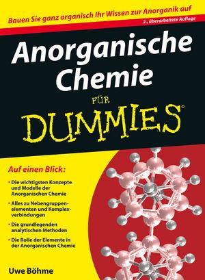 Anorganische Chemie für Dummies, 2. Auflage