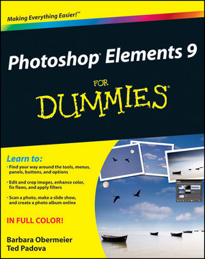 Photoshop Elements 9 For Dummies (0470929545) cover image