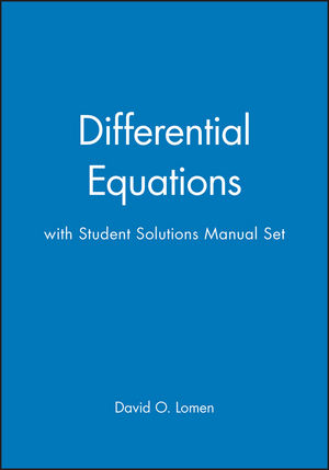 Differential Equations with Student Solutions Manual Set