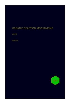 Organic Reaction Mechanisms 1996: An annual survey covering the literature dated December 1995 to November 1996