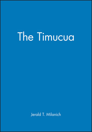 The Timucua (0631218645) cover image