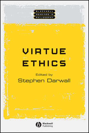 Virtue Ethics (0631231145) cover image
