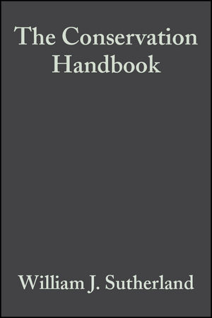 The Conservation Handbook: Research, Management and Policy (0632053445) cover image