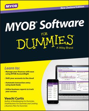 MYOB Software For Dummies - NZ, New Zealand Edition