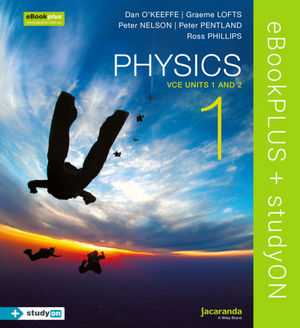 Physics 1 VCE Units 1 and 2 eBookPLUS (Online Purchase) + StudyOn VCE Physics Units 1 and 2 (Online Purchase)