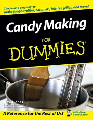 Candy Making For Dummies Tip Card