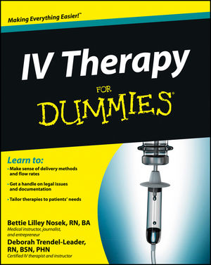IV Therapy For Dummies (1118116445) cover image