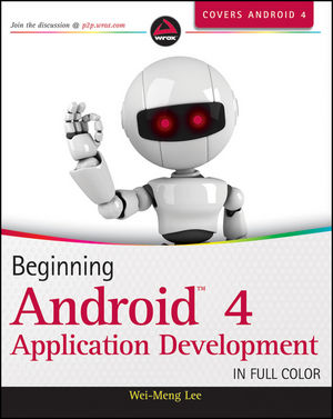 Beginning Android 4 Application Development (1118199545) cover image