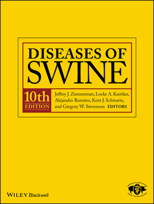 Diseases of Swine, 10th Edition (1118347145) cover image