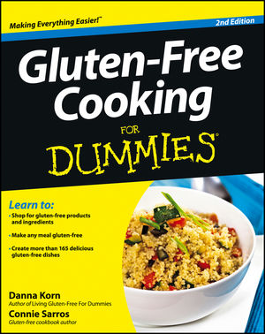 Gluten-Free Cooking For Dummies, 2nd Edition (1118432045) cover image