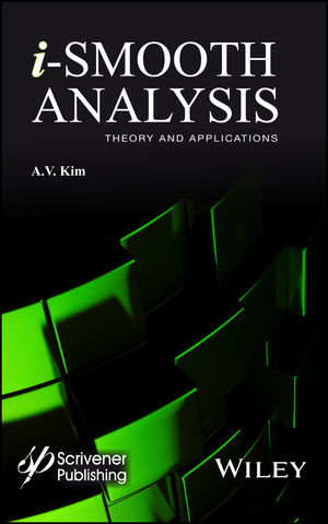 i-Smooth Analysis: Theory and Applications (1118998545) cover image