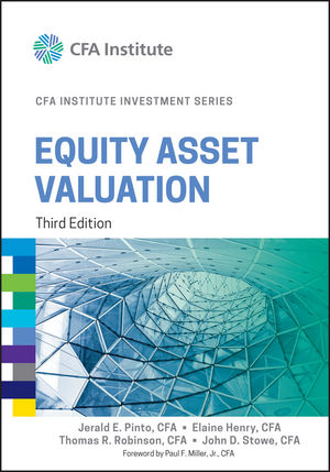 Equity Asset Valuation, 3rd Edition (1119104645) cover image