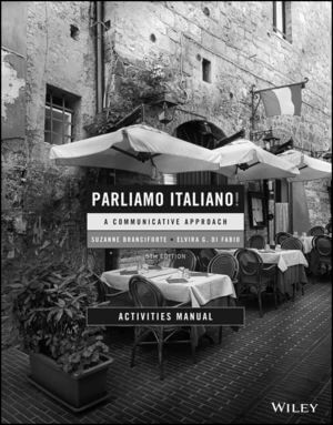 Parliamo italiano!, Activities Manual, Edition 5