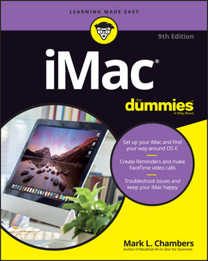 iMac For Dummies, 9th Edition (1119241545) cover image