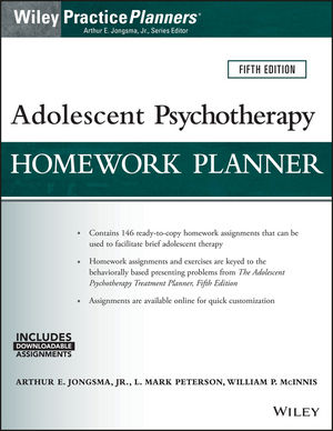 Adolescent psychotherapy homework planner pdf
