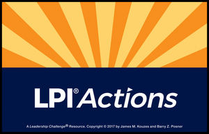 Leadership Practices Inventory (LPI) Action Cards, Revised Edition (1119409845) cover image