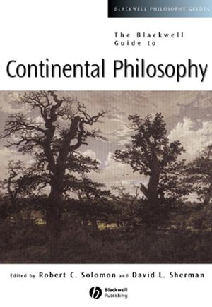 The Blackwell Guide to Continental Philosophy (1405143045) cover image