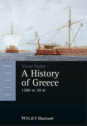A History of Greece, 1300 to 30 BC (1405190345) cover image