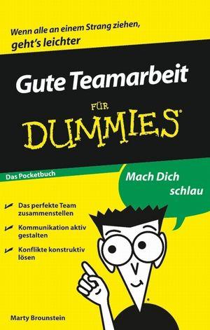 Gute Teamarbeit für Dummies, Das Pocketbuch (3527637745) cover image