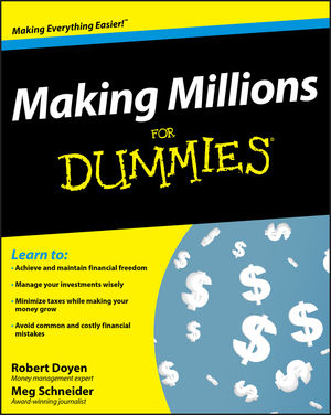 Making Millions For Dummies (0470276746) cover image
