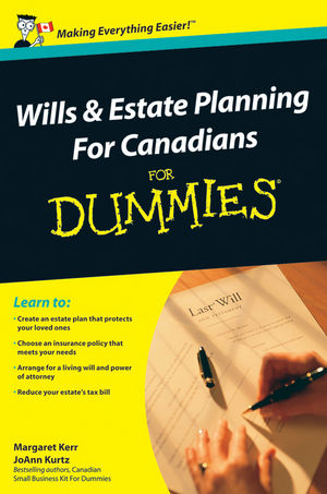 Wills and Estate Planning For Canadians For Dummies, 2nd Edition