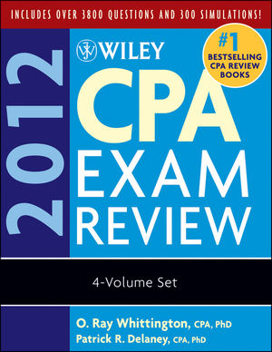 Wiley CPA Exam Review 2012, 4-Volume Set (0470923946) cover image
