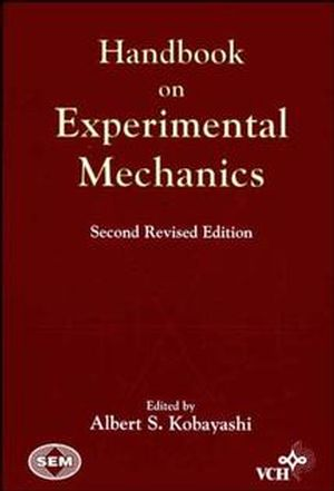 Handbook on Experimental Mechanics , 2nd, Revised Edition (0471188646) cover image