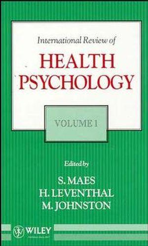 International Review of Health Psychology, Volume 1