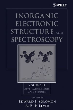 Inorganic Electronic Structure and Spectroscopy, Volume II: Applications and Case Studies (0471971146) cover image