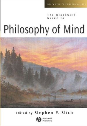 The Blackwell Guide to Philosophy of Mind (0631217746) cover image