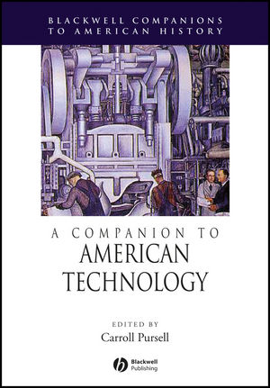 A Companion to American Technology (0631228446) cover image