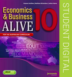 Business & Economics Alive 10 Australian Curriculum Edition (Online Purchase)