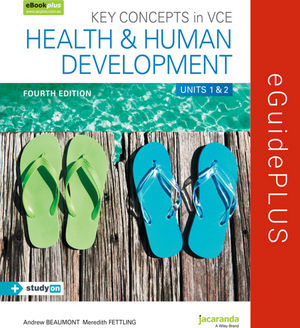 Key Concepts In VCE Health And Human Development Units 1&2 4E eGuidePLUS (Online Purchase)