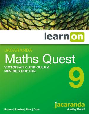 Jacaranda Maths Quest 9 Victorian Curriculum LearnOn (Online Purchase)
