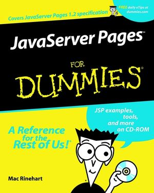 JavaServer Pages For Dummies� (0764515446) cover image