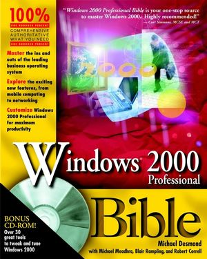 Windows 2000 Professional Bible (0764534246) cover image