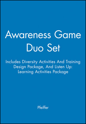 Awareness Game Duo Set (Includes Diversity Activities And Training Design Package, And Listen Up: Learning Activities Package)