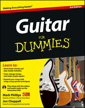 Guitar For Dummies, with DVD, 3rd Edition