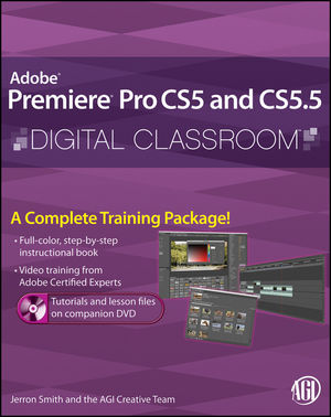 Premiere Pro CS5 and CS5.5 Digital Classroom (1118159446) cover image